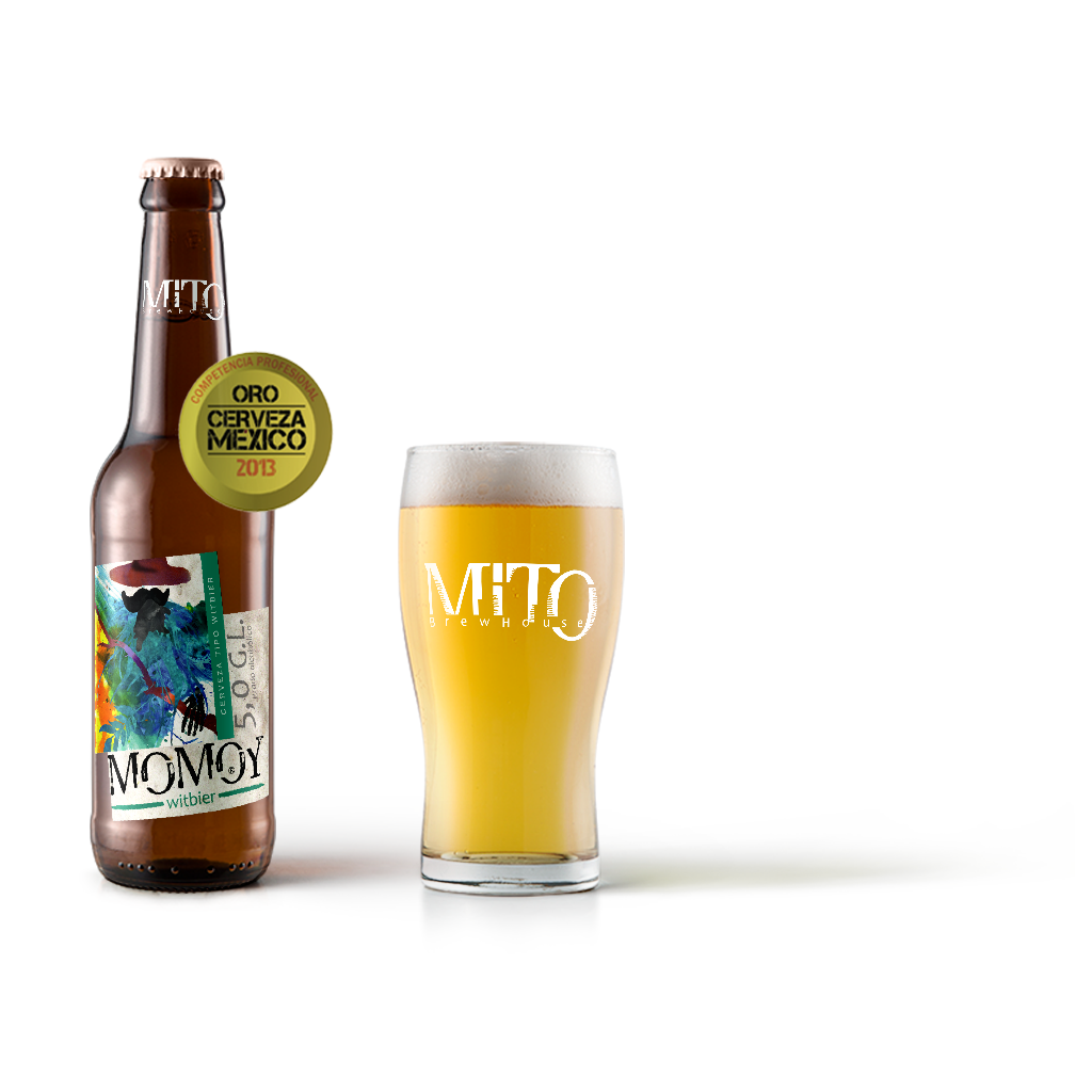 MOMOY witbier - Mito Brew House