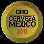 Competencia profesional Cerveza Mexico 2013 Medalla de Oro