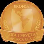 Copa Cervezas de America CGA 2014-medalla - Bronce